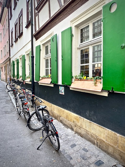 Shutters and bikes