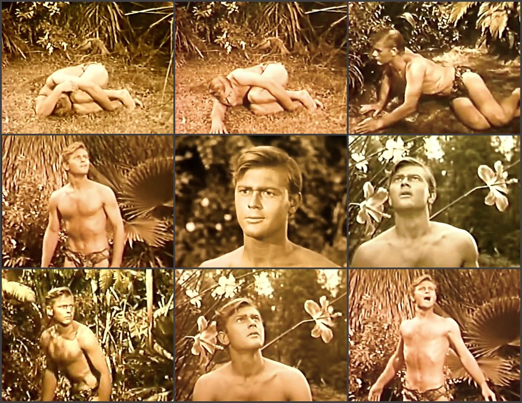"Martin Milner in ""The Private Lives of Adam and Eve"" (1960), directed by Mickey Rooney and Albert Zugsmith."