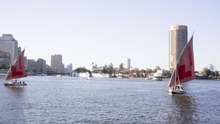 Nile boats in Cairo | by Kodak Agfa