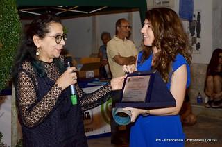 Un riconoscimento alla 'forestiera' Marilina Pagliara, paladina del Paese Azzurro