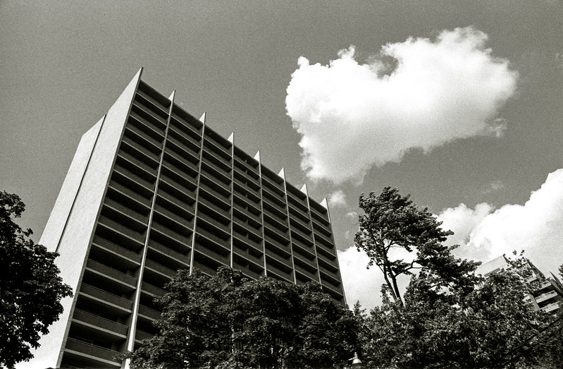 Toronto Modern Below the Clouds