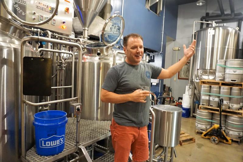 Travel to Butler County, Ohio - Municipal Brew Works, Hamilton, Aug. 10, 2018