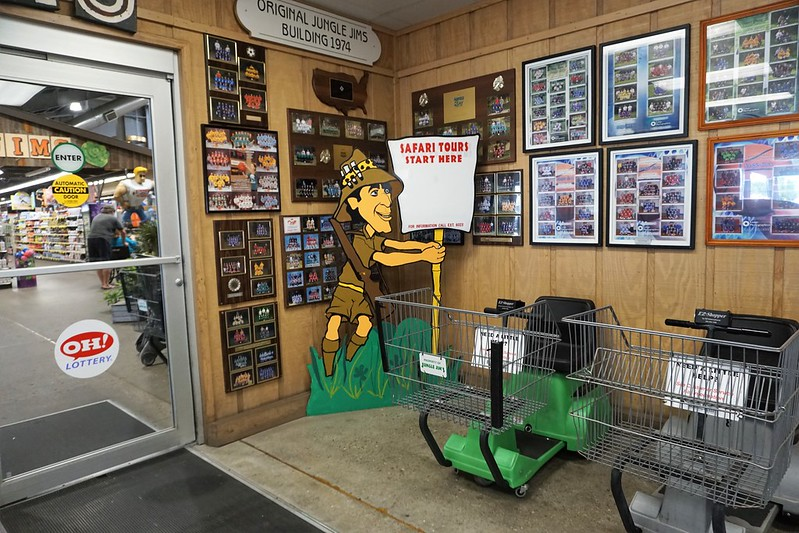 Travel to Butler County, Ohio - Jungle Jim's International Market in Fairfield, Aug. 11, 2018