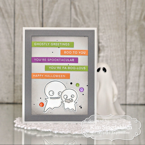 Taylored Expressions Mini Strips - Halloween