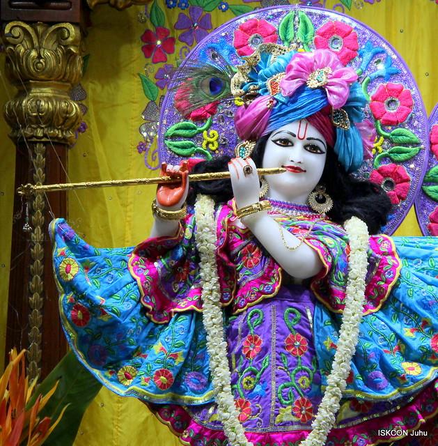 ISKCON Juhu Mangal Deity Darshan on 30th June 2019