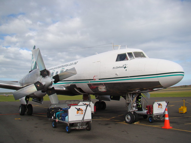 Air Chathams Convair CV-580 ZK-CIF