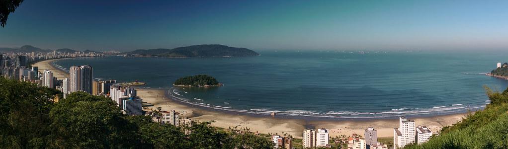 São Vicente, Santos e Guarujá - São Paulo - Brasil