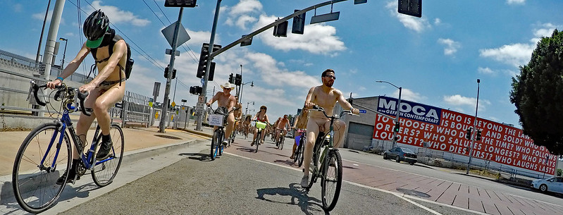LA World Naked Bike Ride 2019 (142426A)