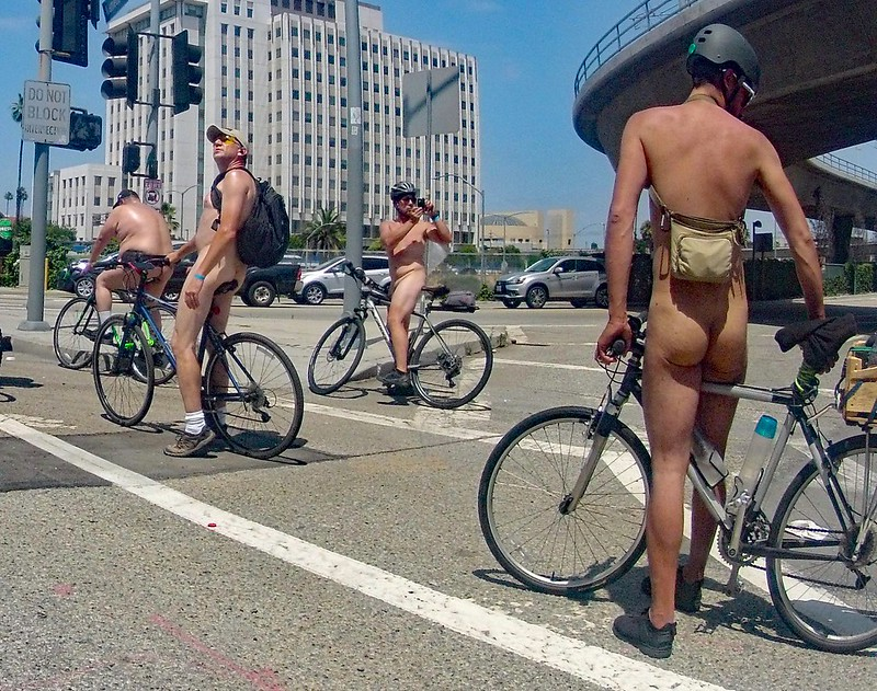 LA World Naked Bike Ride 2019 (142630)