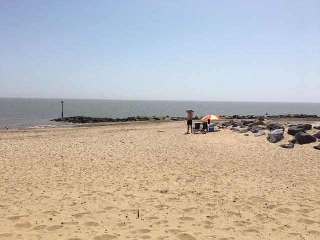 The Beach Clacton to Walton on the Naze
