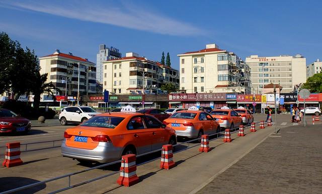 Chengqiao - Taxi Row