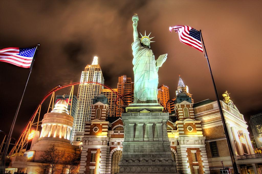New York New York in Vegas