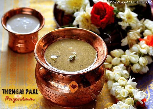 Coconut Milk Payasam Recipe