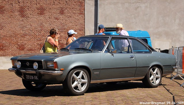 Opel Rekord 1900 coupé 1973