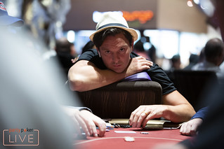 Millions Vegas At Aria Day 1B - Sam Trickett | by partypoker