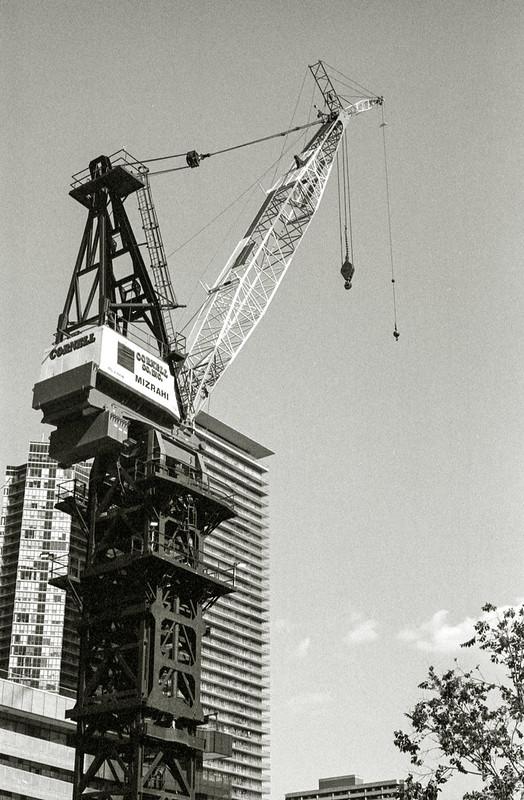 One Bloor West Crane