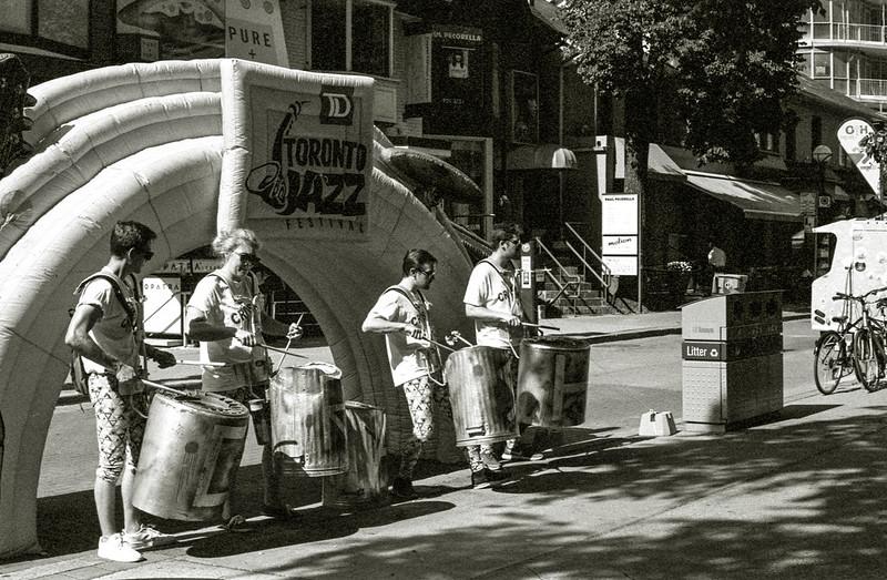 Improvised Samba Drums_