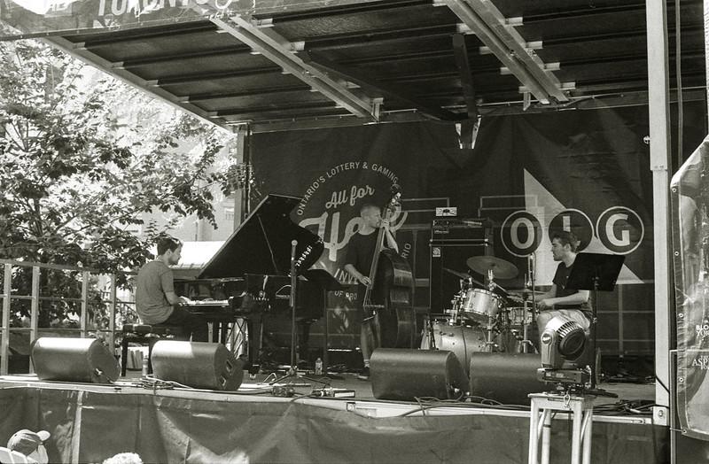 TD Toronto Jazz Festival Hazelton Ave Stage
