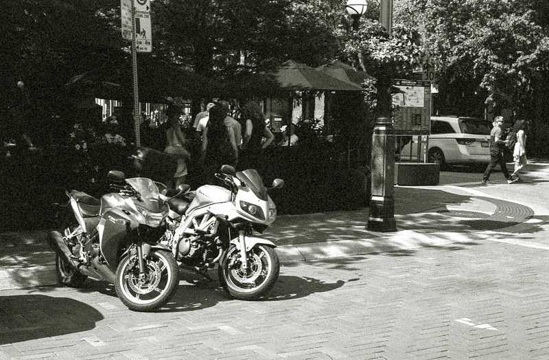 Yorkville Ave Motorbike Parking