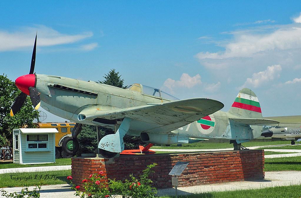 Yak 9U 27 Bulgarian Air Force