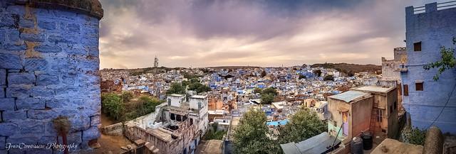 Blue City Panorama, Jodhpur, India