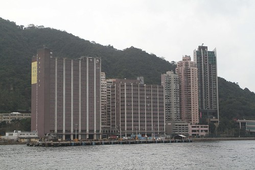 Warehouses behind the China Merchants Wharf in Kennedy Town