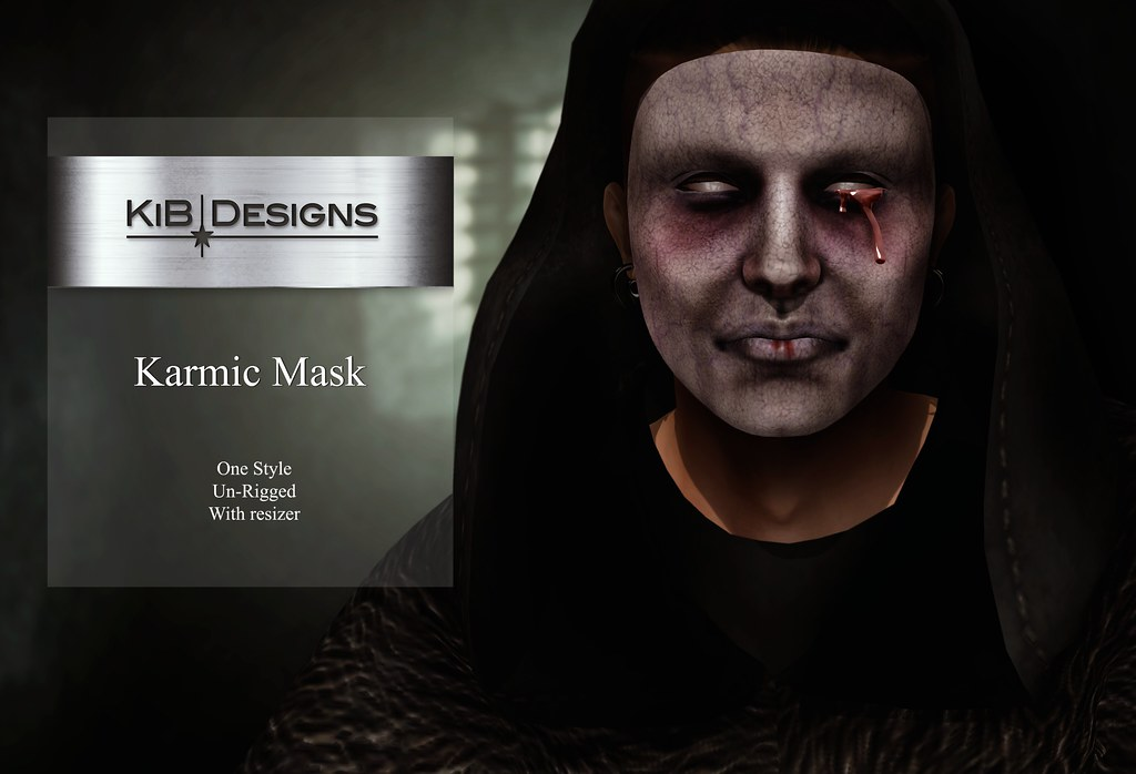 KiB Designs – Karmic Mask @Darkness Event