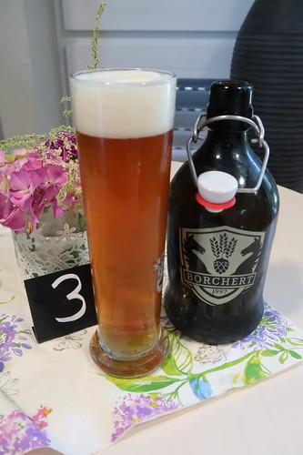 Aquinas Buchweizen = Buchweizenbier von der Brauerei Borchert im Emsland