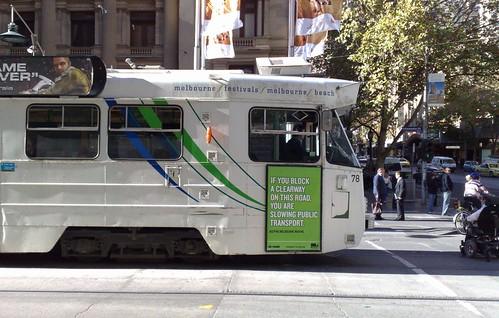 June 2009: Public transport roads campaign