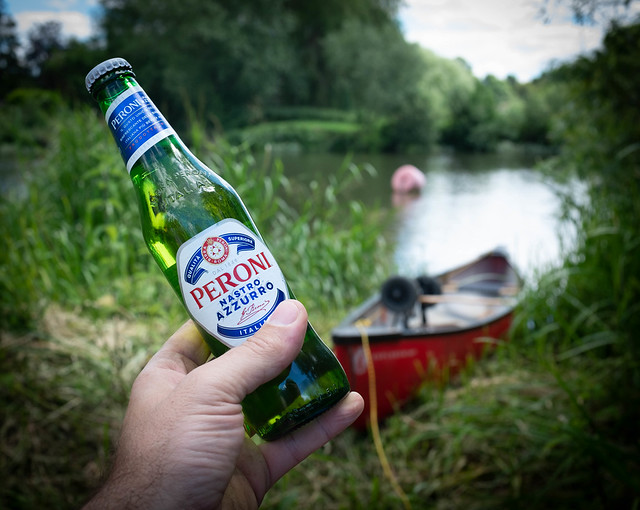 Canoe and a beer