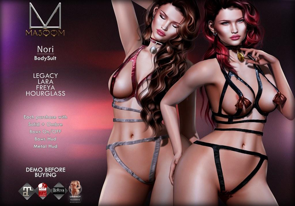 [[ Masoom ]] Nori Bodysuit @ Kinky Event
