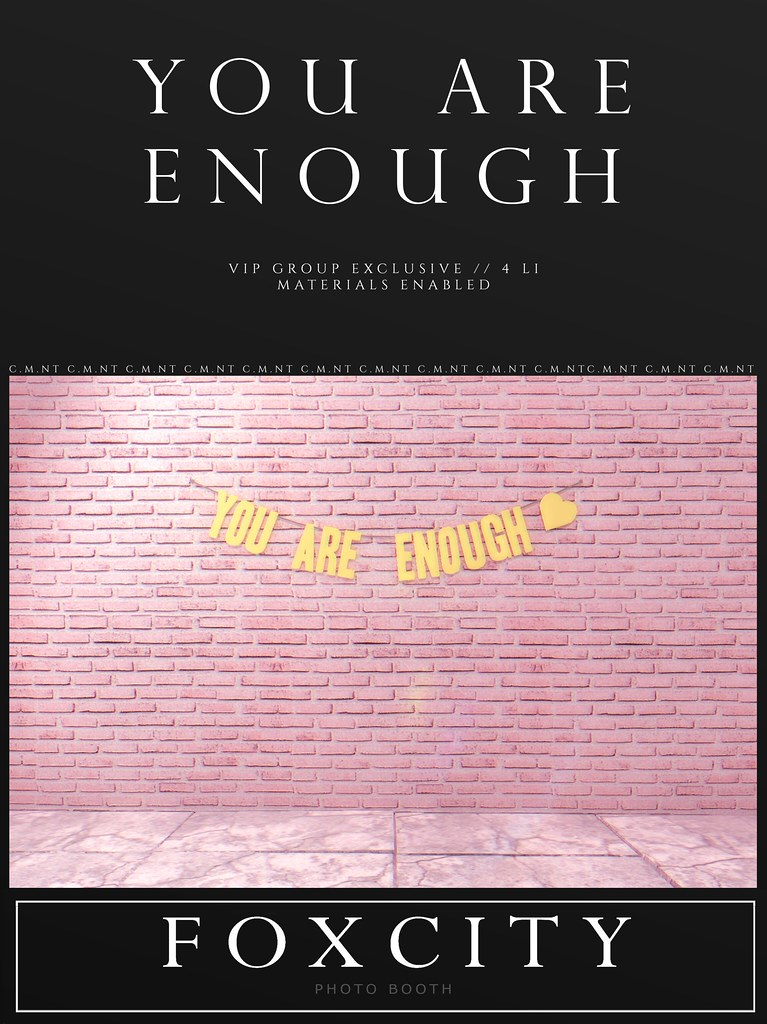 FOXCITY. VIP Photo Booth – You Are Enough