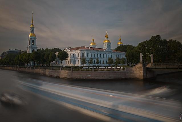 RUS71714 - Cityscape #4. Water Traffic