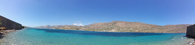 Panorama at Spinalonga