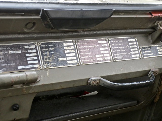1974 DAF 66 YA Technical Data