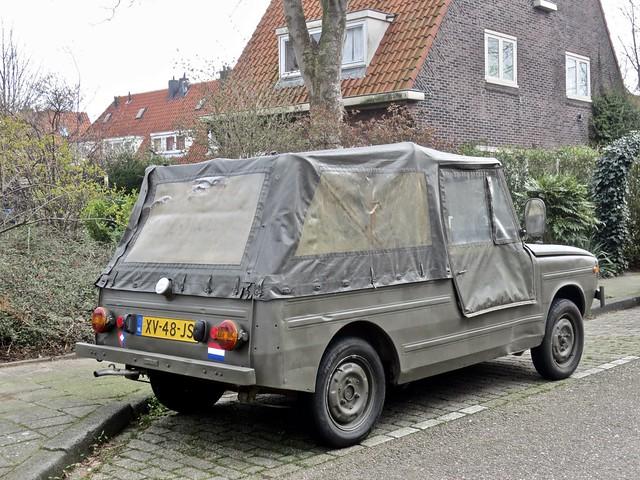 1974 DAF 66 YA Cabriolet Variomatic