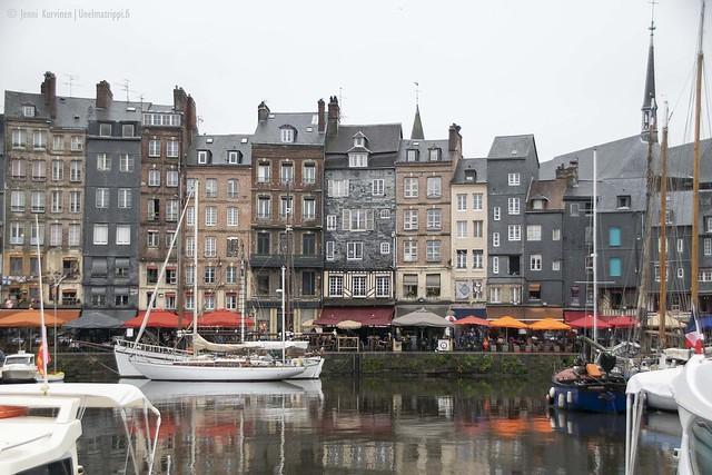 Honfleurin satama, Ranska