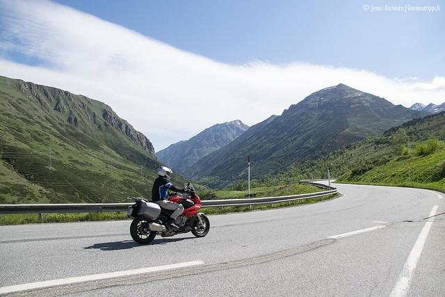 Matkalla Andorrasta Le Grau-du-Roihin