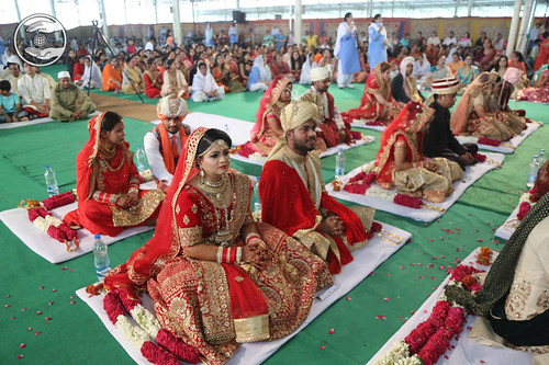 View of Mass Marriages