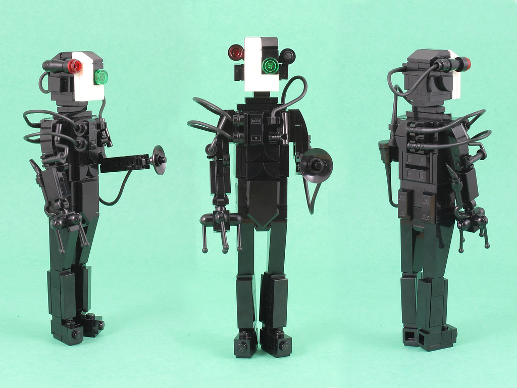 Borg Turnaround (custom built Lego model)