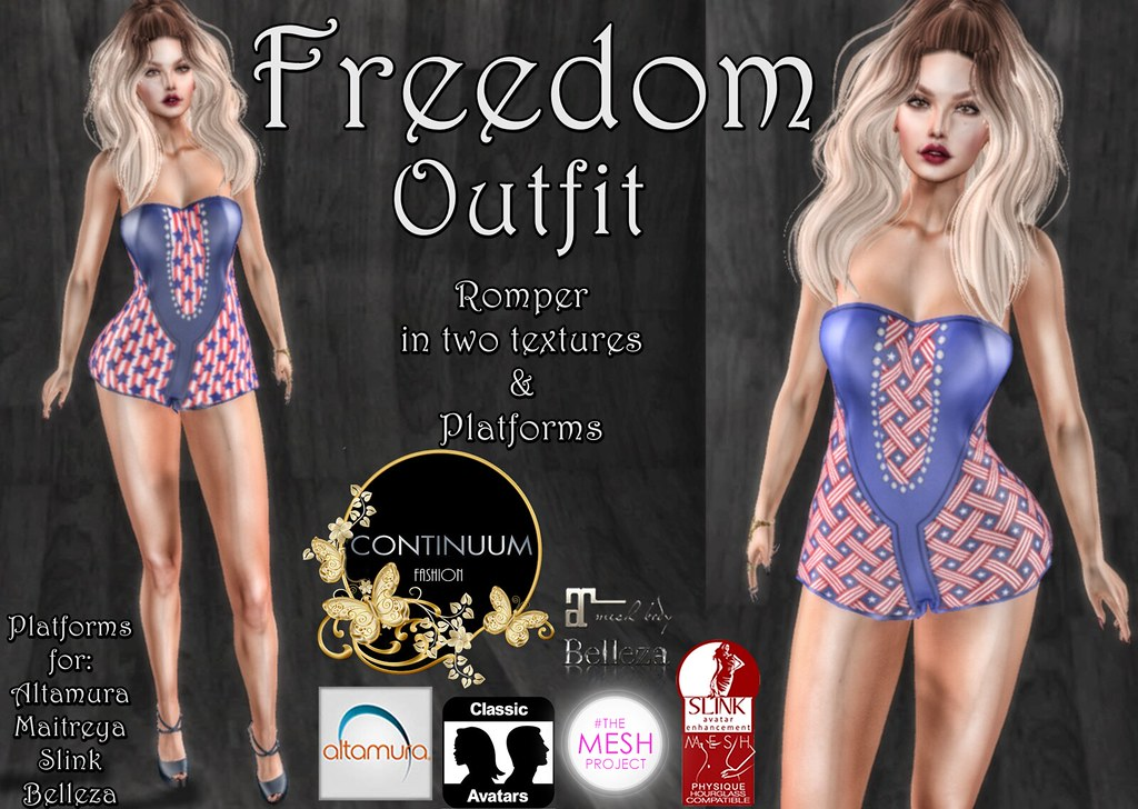 Continuum Freedom Outfit