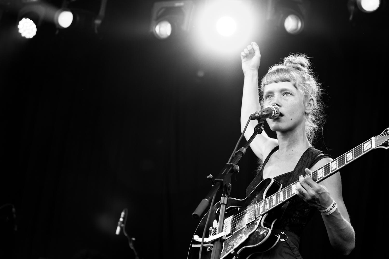 Alice Phoebe Lou @ Rock Werchter 2019 (© Sanne Gommers)