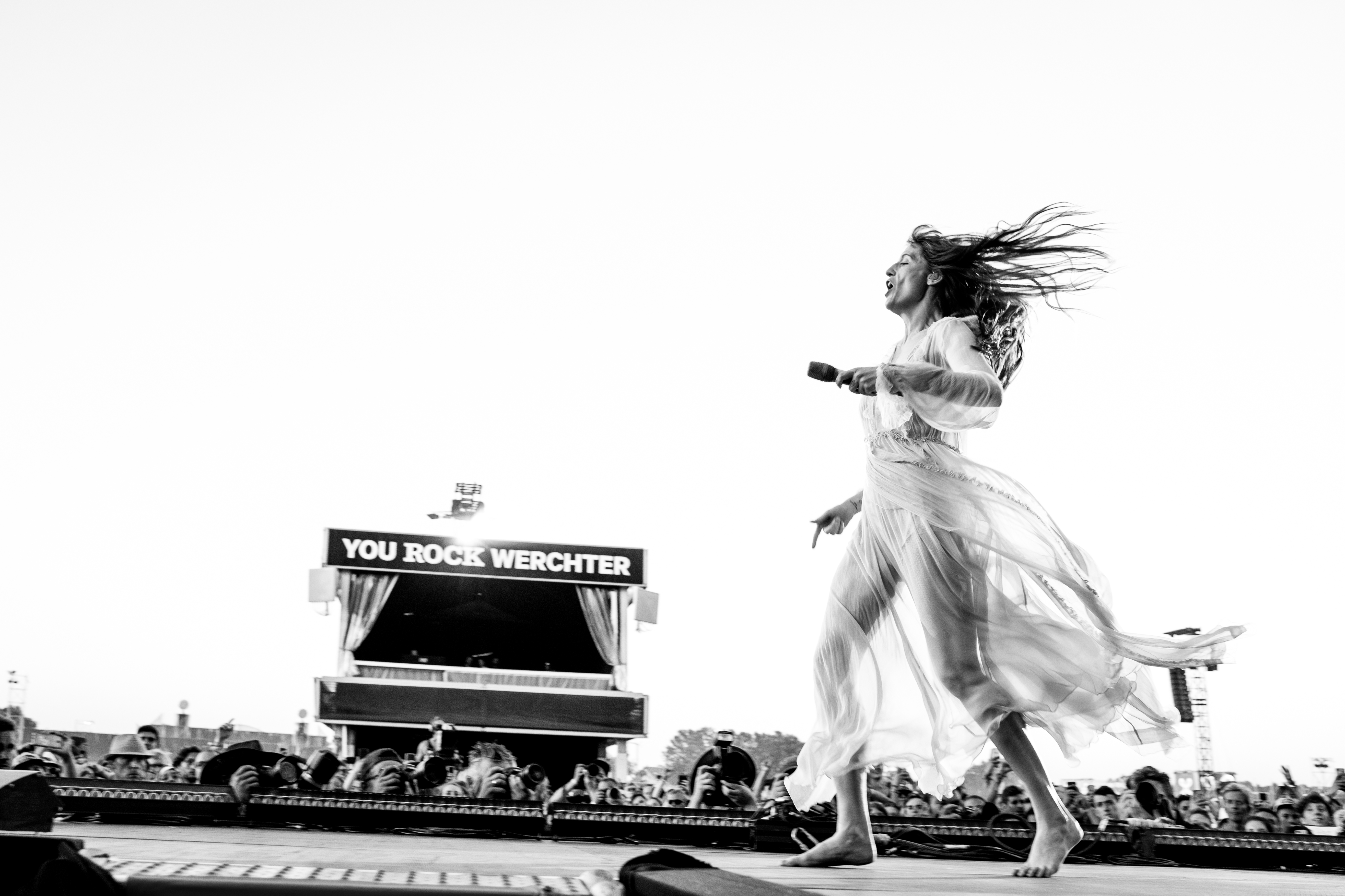 Florence + The Machine @ Rock Werchter 2019 (© Sanne Gommers)