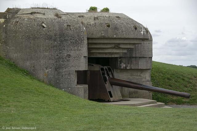 Saksalaisten bunkkeri Normandiassa