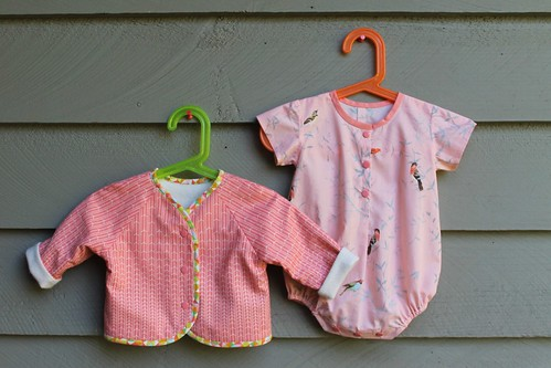 Oliver and S Lullaby Layette Jacket and Romper