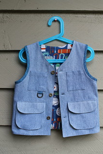Little Things To Sew Explorer Vest