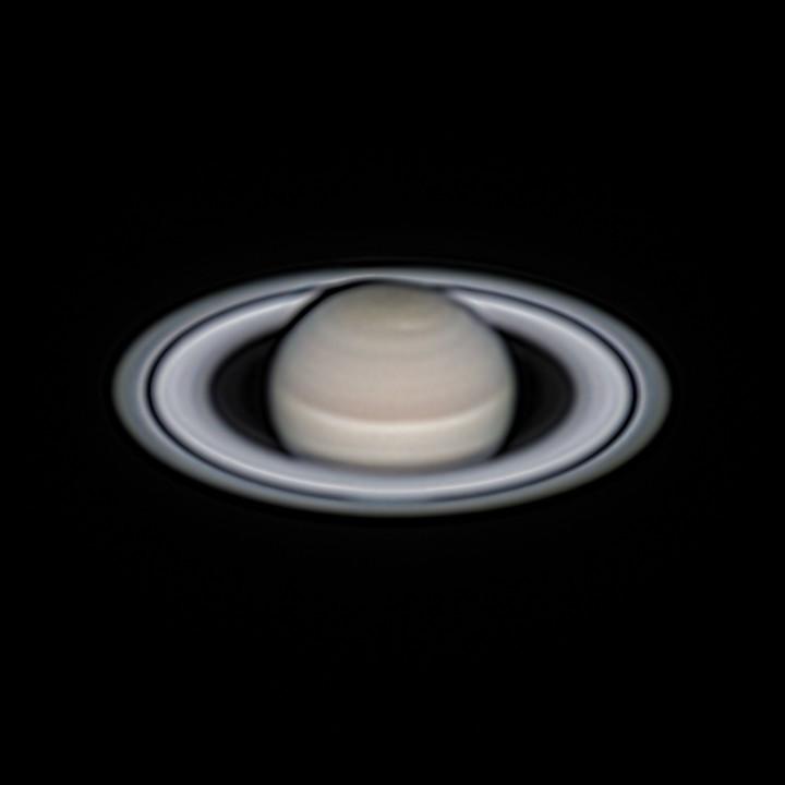 土星 (2018/7/29 20:42-20:44) (1500/3000 LRGB)  (2019/6/30 再処理)