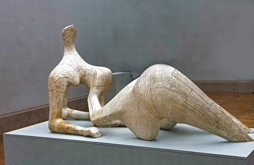 Henry Moore - Reclining Figure 1951