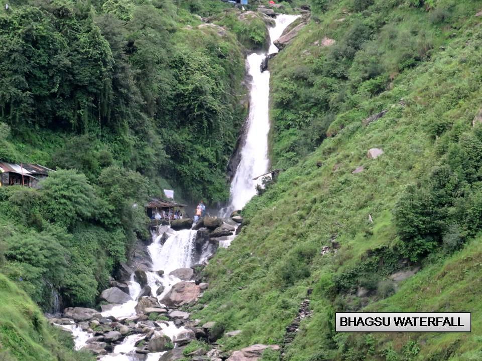 BHAGSU WATERFALL MCLEODGANJ dHARAMSALA