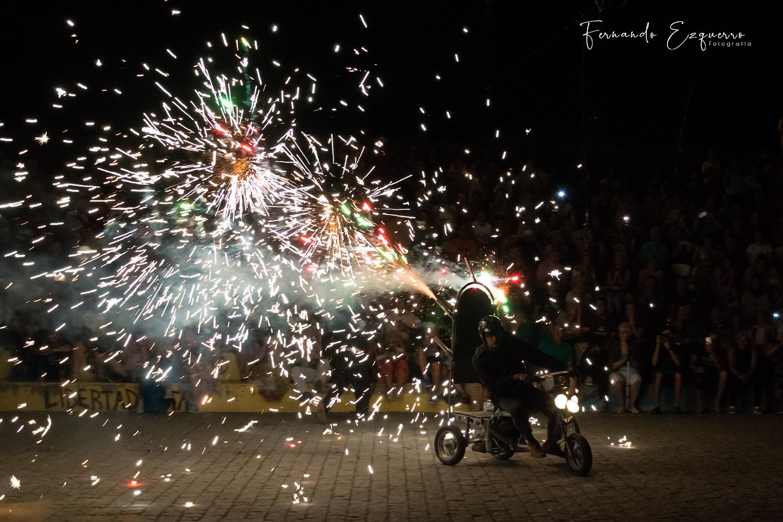 Noche de San Juan en el Parque Delicias